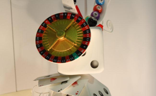 Particolare Roulette e carte poker